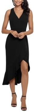 Xscape Evenings Ruffled Fit & Flare Midi Dress