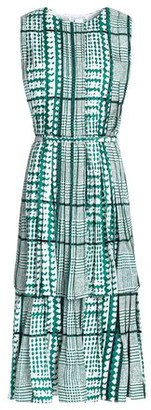 Oscar de la Renta 3/4 length dress