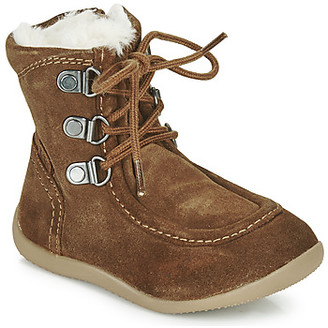 Kickers BAMARA girls's High Boots in Brown
