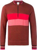 Paul Smith striped detailing pullover - men - Silk/Merino - L