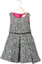 Helena Girls' Tweed Knit A-Line Dress
