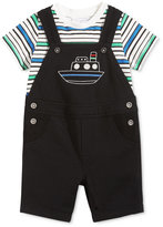 First Impressions 2-Pc. T-Shirt & Boat Shortall Set, Baby Boys (0-24 months), Only at Macy's