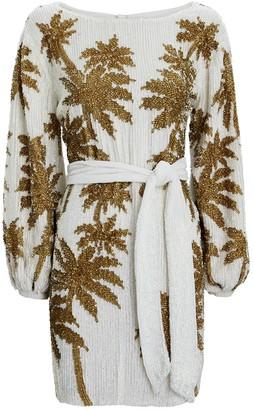 retrofete Grace Sequin Mini Dress