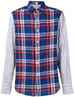 Loewe checked button shirt