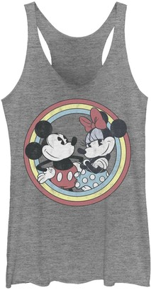 Licensed Character Juniors' Disney Mickey And Minnie Classic Tank