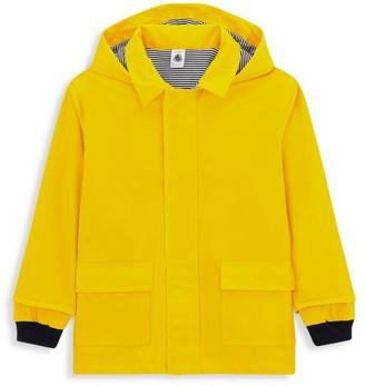 Petit Bateau Baby's Hooded Rain Jacket