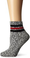 Wigwam Women's Mar-Lee Classic Rag Textured Quarter Socks