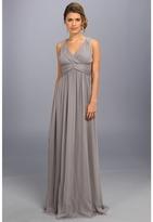 Donna Morgan Julie Bra Friendly Long Gown