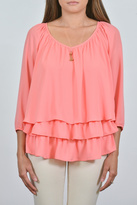 Joseph Ribkoff Three Layer Top