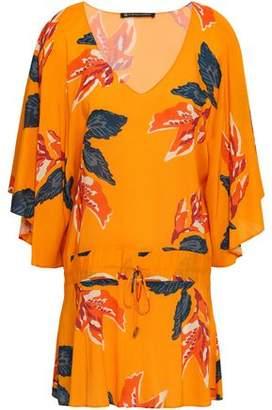 Vix Paula Hermanny Tulum Floral-print Voile Tunic