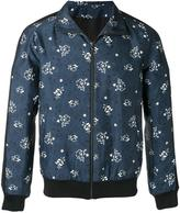Paul & Joe printed sports jacket - men - Polyester/Acetate/Viscose - M