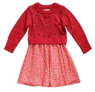 Youngland Girls Chunky Sweater and Dress Twofer, Sizes 7-16