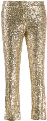 Balmain Sequin-Embellished Trousers