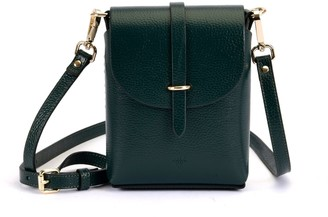 Atelier Hiva Astrum Leather Bag Forest Green