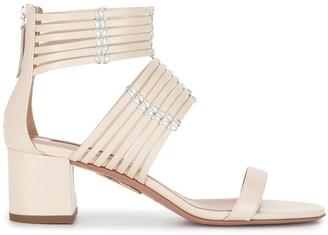 Aquazzura Ravello 50mm sandals