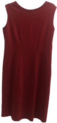 Moschino Cheap & Chic Moschino Cheap And Chic Burgundy Cotton - elasthane Dress for Women
