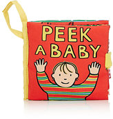 Jellycat Peek A Baby Book-RED, NO COLOR