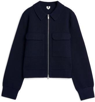 Arket Boxy Merino Jacket