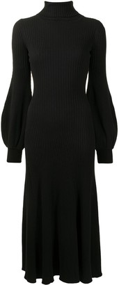 ANNA QUAN Amalia ribbed-knit dress