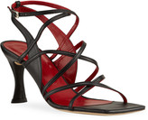 BY FAR Christina Pedestal-Heel Gladiator Sandals