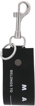 Marni Luggage Label Tag Keyring