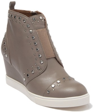 Linea Paolo Felicity Studded Wedge Sneaker