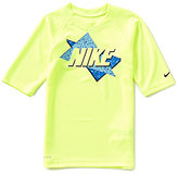 Nike Big Boys 8-20 Throwback Dri-FIT UPF Short-Sleeve Rashguard Tee