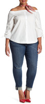 KUT from the Kloth Asher Straight Leg Jean (Plus Size)