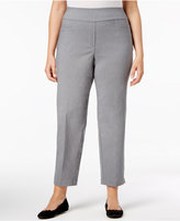 Alfred Dunner Plus Size Closet Case Collection Pull-On Pants