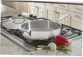 Cuisinart Chef's Classic 5.5 Qt. Saute Pan with Helper Handle and Cover in Stainless