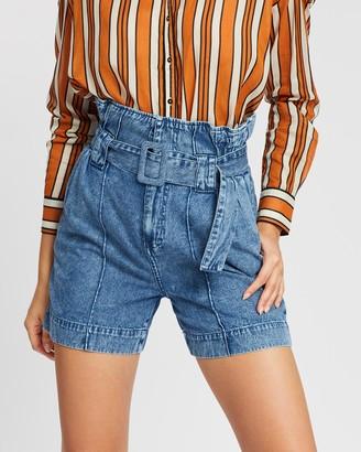 Scotch & Soda High Waist Shorts