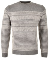 Barbour Haswell Knit Jumper Grey
