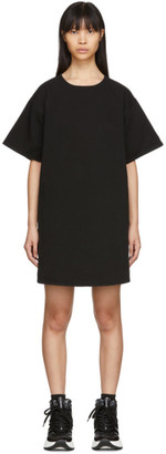 MM6 MAISON MARGIELA Black Denim T-Shirt Dress