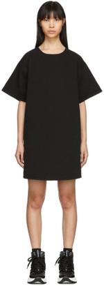 MM6 MAISON MARGIELA Black Denim T-Shirt Dress
