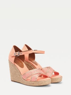 Tommy Hilfiger Metallic High Wedge Sandal