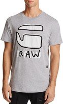 G Star Relax Logo Graphic Tee