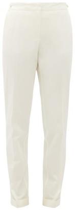 Gabriela Hearst Camus Cotton Straight-leg Trousers - Ivory