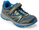 Merrell Kids Boys) Navy & Citron Capra Bolt Hiking Shoes