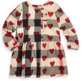 Burberry Baby's & Toddler Girl's Alaya Heart Check Dress