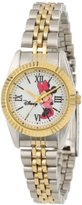 EWatchFactory Disney Women's W000575 Minnie Mouse Two-Tone Status Watch