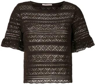 Cecilia Prado knitted Melania blouse