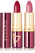 Wander Beauty - Wanderout Dual Lipstick - Wanderberry/ Barely There