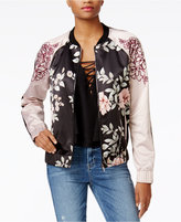 GUESS Luba Satin Bomber Jacket