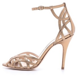 Monique Lhuillier Ankle Strap Sandals