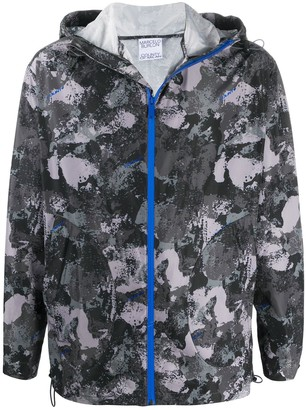 Marcelo Burlon County of Milan Camouflage-Pattern Hooded Jacket