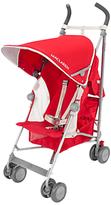 Maclaren Globetrotter Stroller, Red/Silver