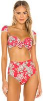 Montce Swim Cabana Trim Bikini Top