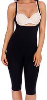 Black Firm Compression Seamless Underbust Shaper Bodysuit