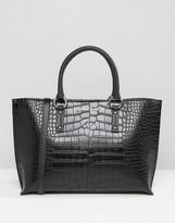 Armani Jeans Croc Style Tote Bag