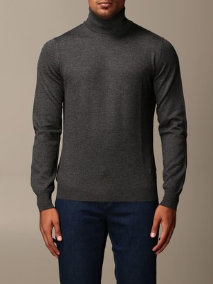 Fay Sweater Classic Turtleneck In Virgin Wool
